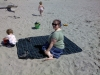 Blanket check, sand check