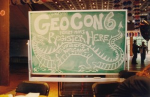 GeoCon 6 Registration Desk